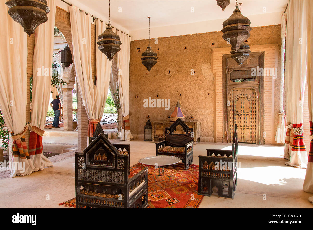 Morocco, High Atlas, Marrakesh, Imperial City, the Beldi Country Club Stock Photo