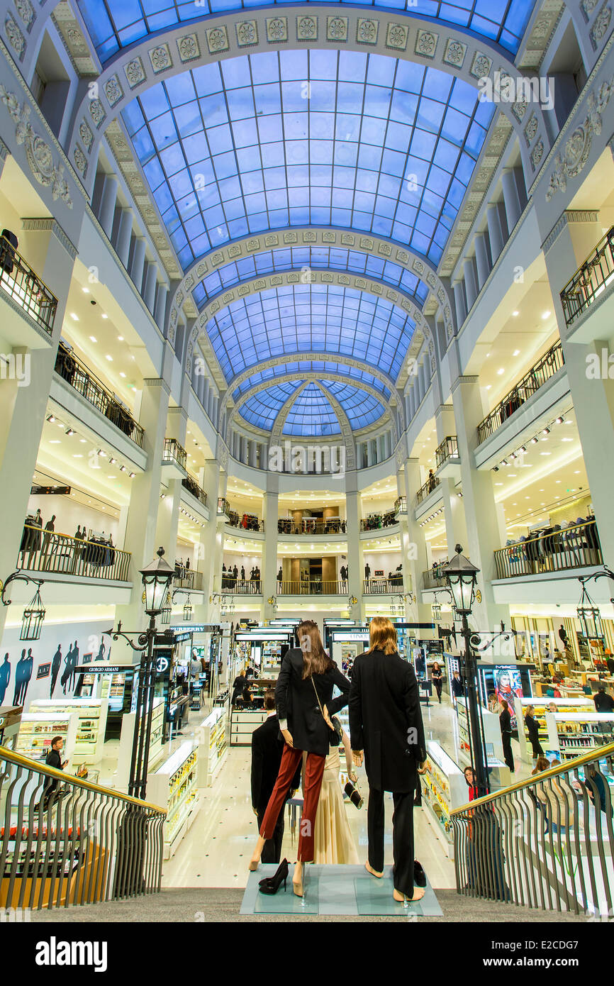 Russia, Saint Petersburg, listed as World Heritage by UNESCO, DLT Department Store - Stock Image