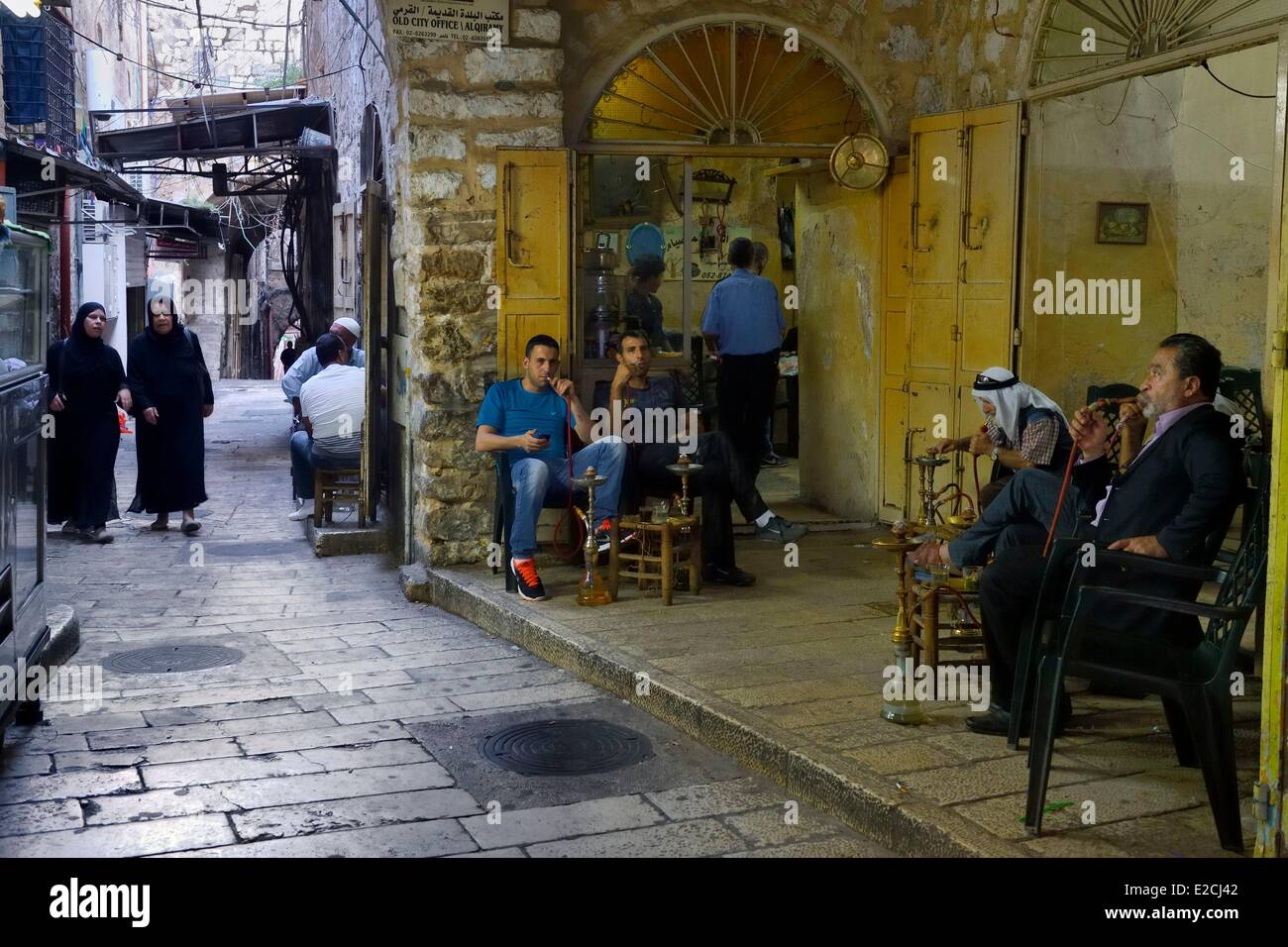 Israel, Jerusalem, holy city, the old town listed as World Heritage by UNESCO - Stock Image
