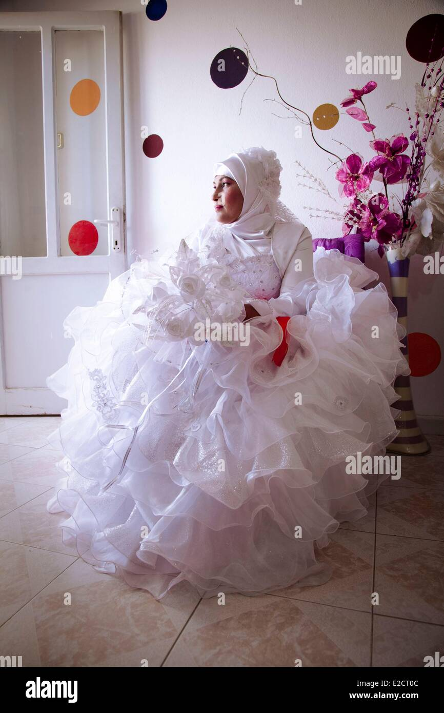 Turkey South Eastern Anatolia Mardin Turkish-Kurdish wedding - Stock Image