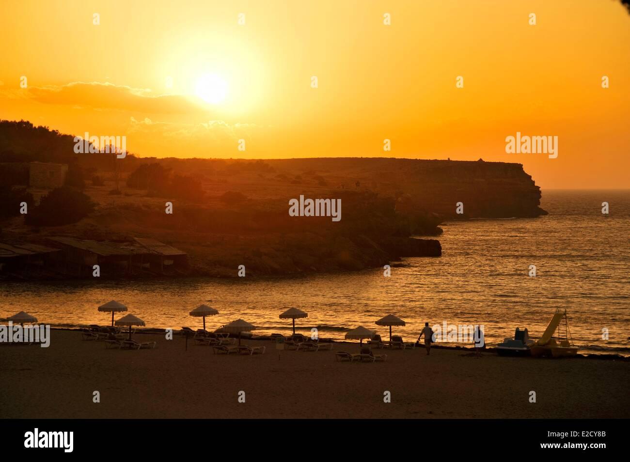 cala saona sunset