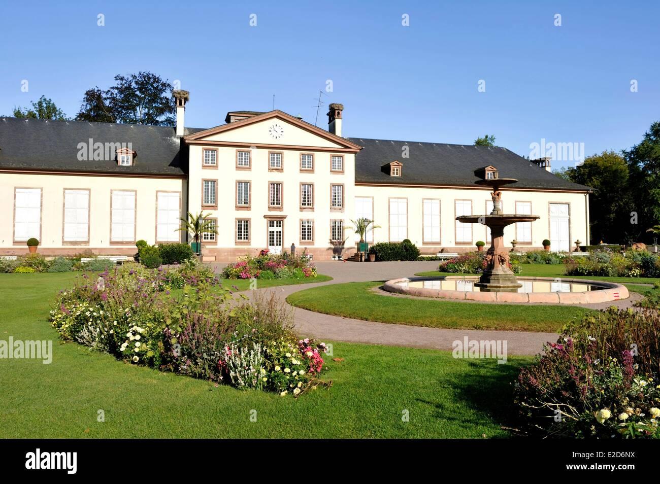 France Bas Rhin Strasbourg Orangerie park pavillon Josephine - Stock Image