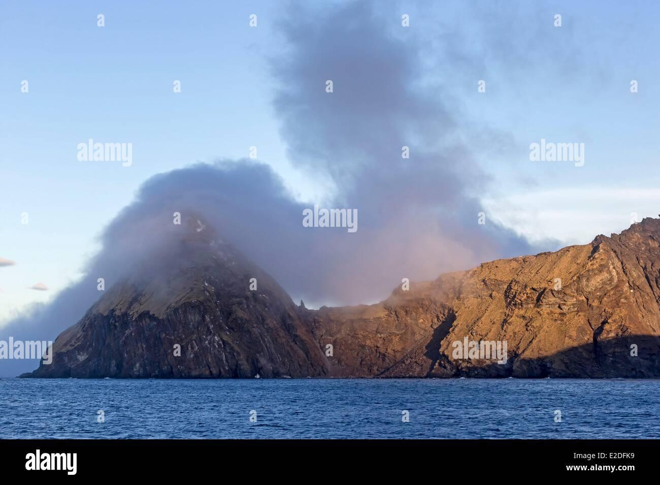 Antarctic, South Georgia Island, Baff Peninsula, Godthul - Stock Image