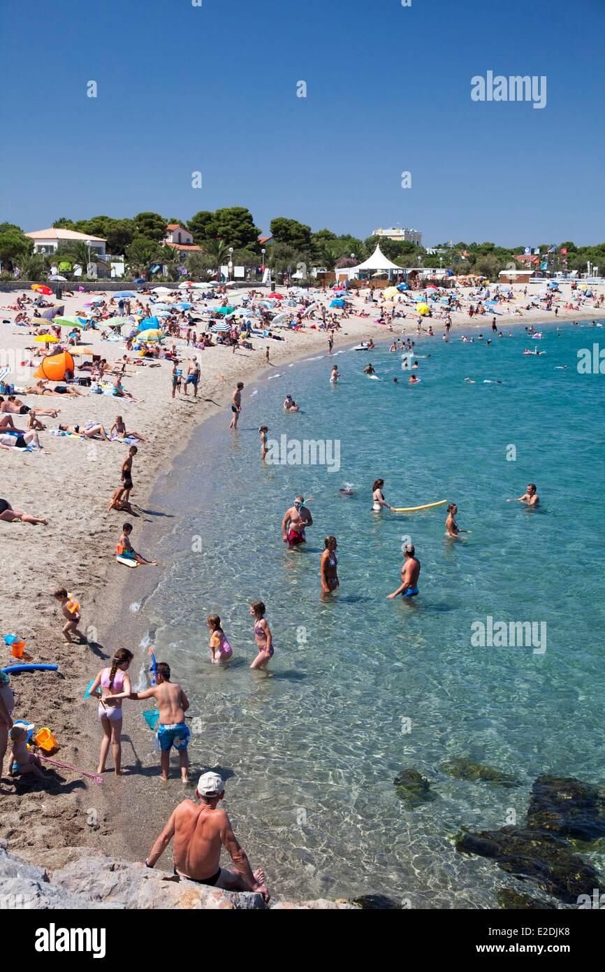 France Pyrenees Orientales Argeles sur Mer Argeles Plage ...