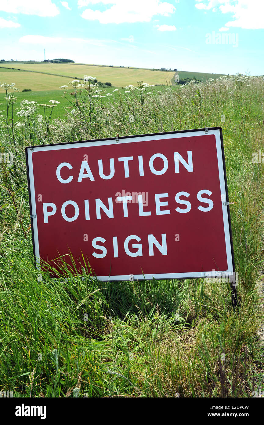 It finally seems that the era of excessive and ridiculous road signs is coming to an end writes PetrolPrices Kitty Bates