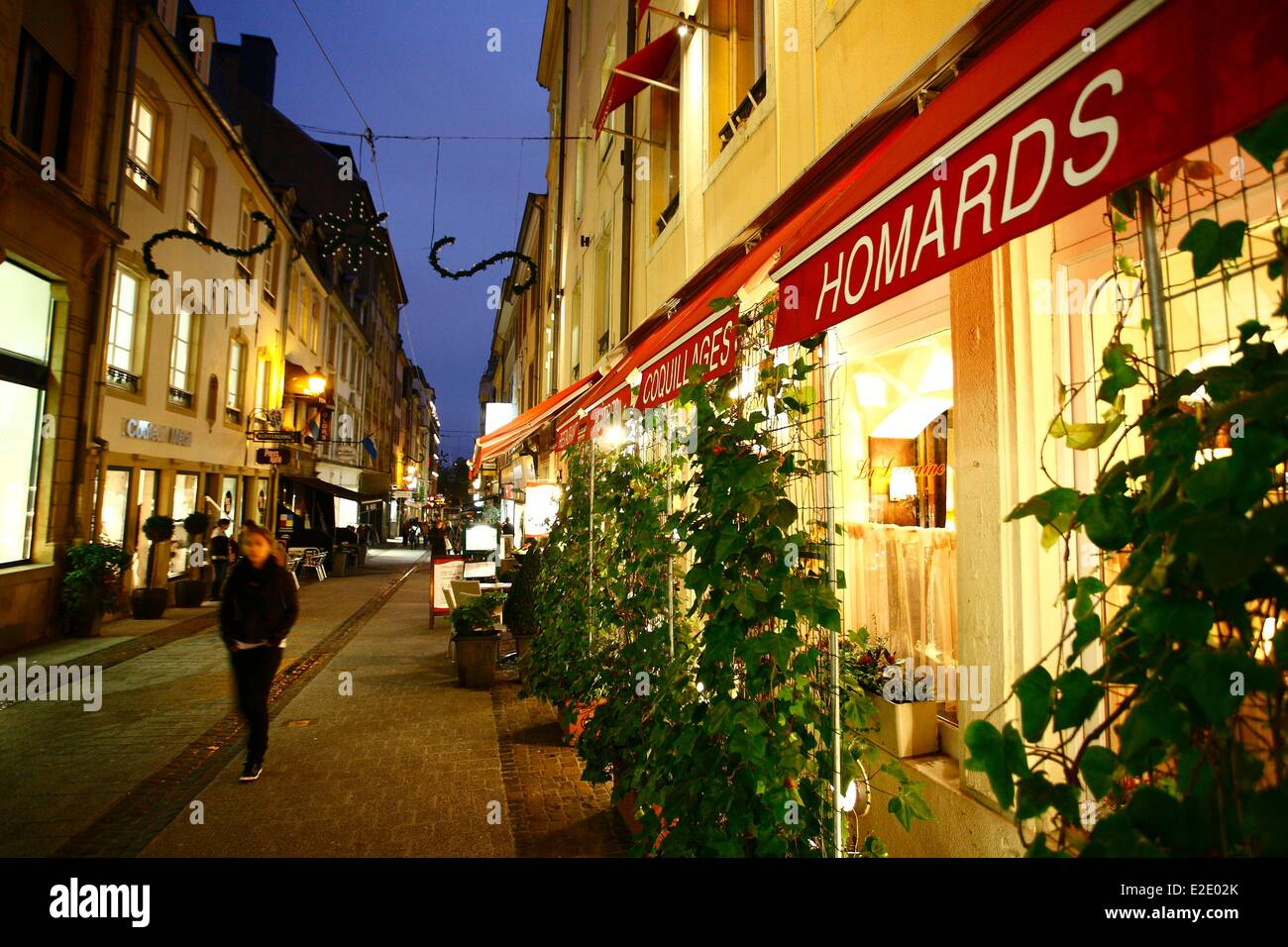 Restaurant Place D Armes Luxembourg