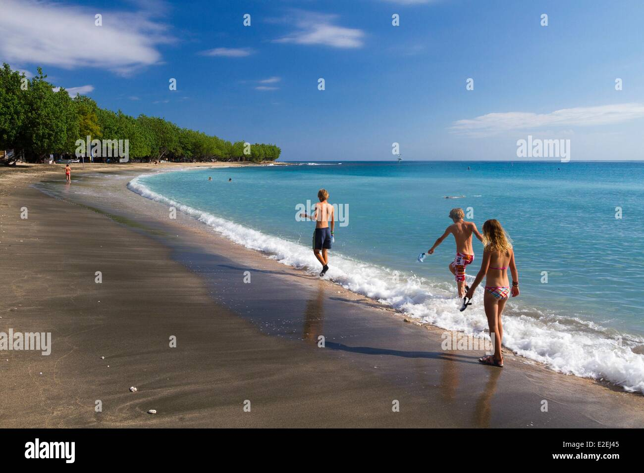 Indonesia, Bali, Pemuteran beach Stock Photo
