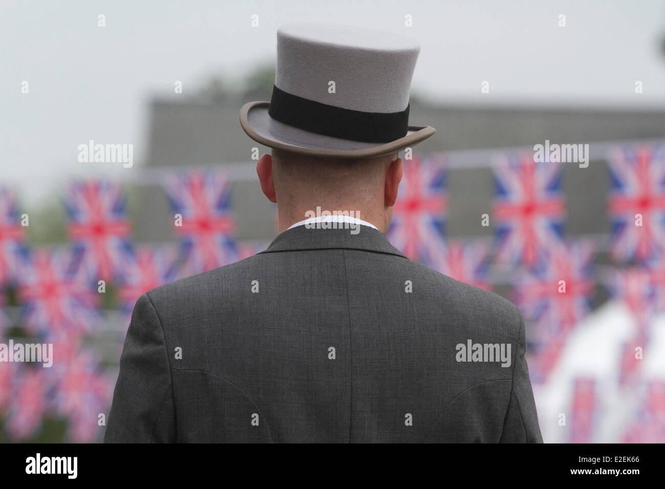 Ascot Berkshire, UK. 19th June 2014.  Ladies day at Royal Ascot Stock Photo