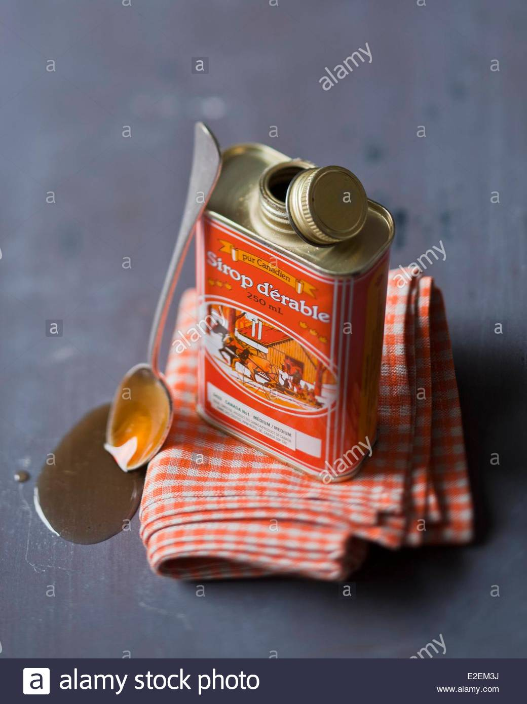 Canada, maple syrup, Styling Valerie Lhomme - Stock Image