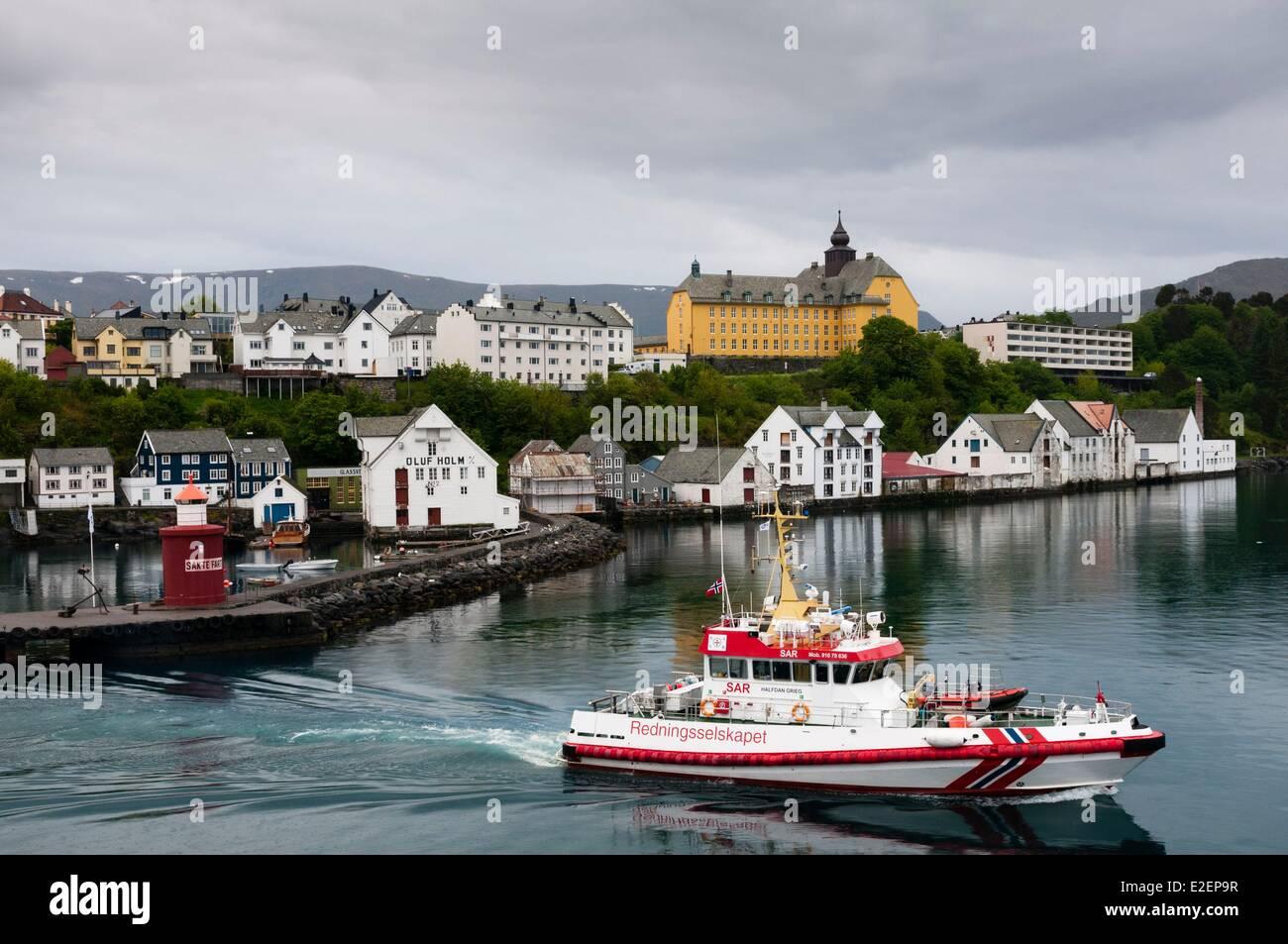 Norway, More og Romsdal County, Alesund - Stock Image