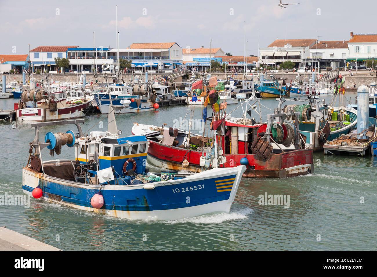 France Charente Maritime Ile D Oleron La Cotiniere The Port