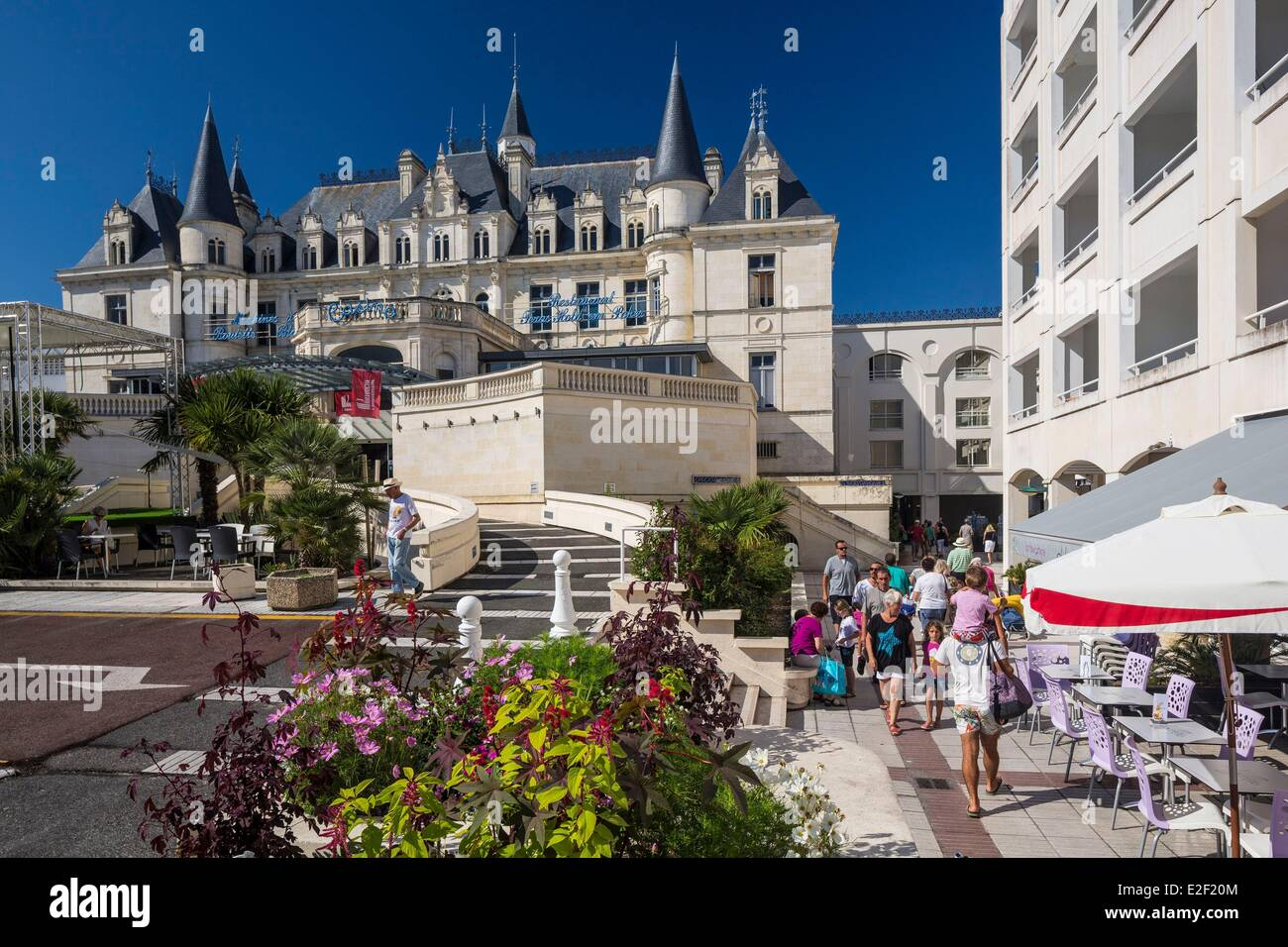 France, the Bassin of Arcachon, Arcachon, the casino - Stock Image