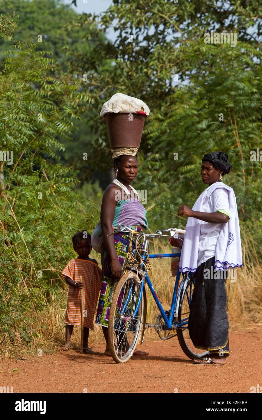Burkina Faso, women in Senoufo area - Stock Image