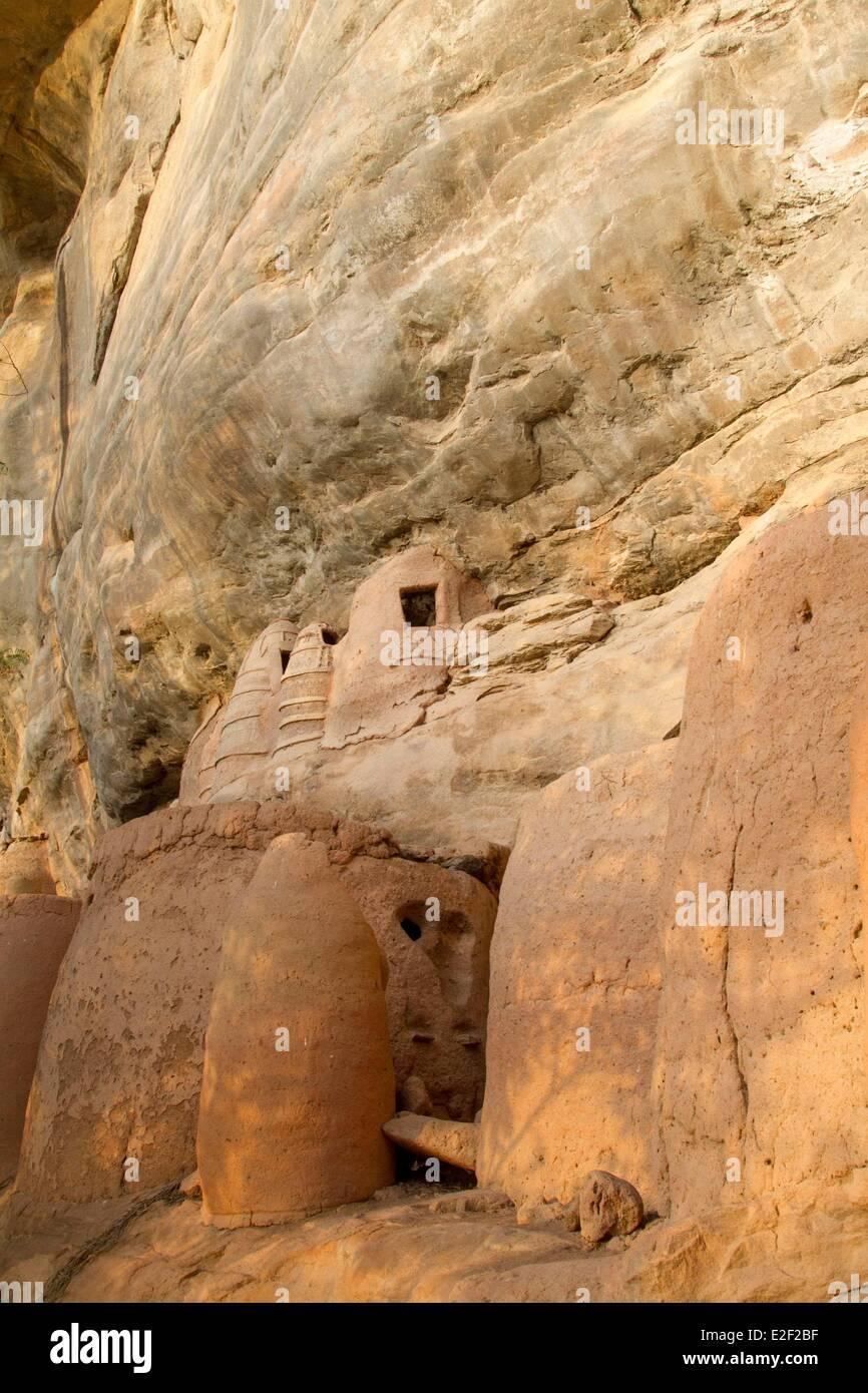 Burkina Faso, Senoufo area, wren vollage of Niansogoni - Stock Image