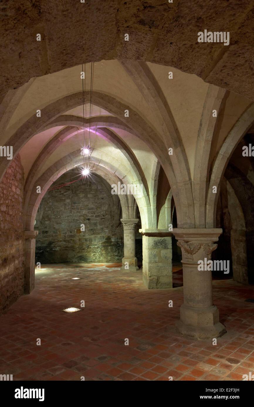 France, Vosges (88), Neufchateau, City Hall, vault - Stock Image