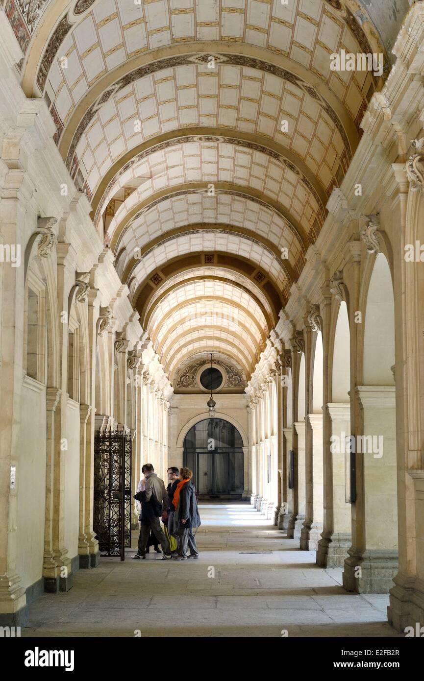 France Rhone Lyon historical site listed as World Heritage by UNESCO Palais Saint Pierre Musee des Beaux Arts (Fine Stock Photo