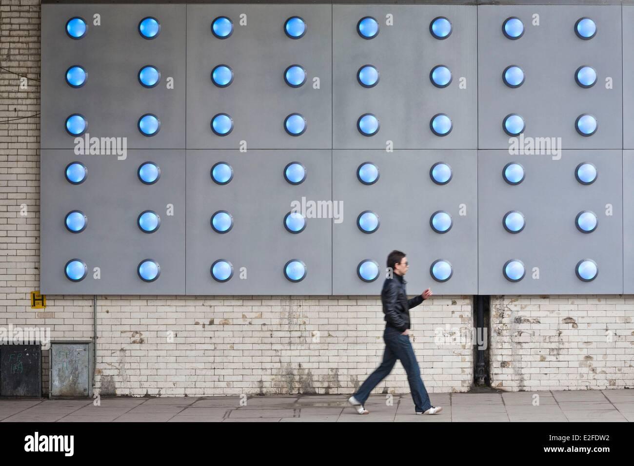 United Kingdom, London, Southwark, Bankside, Southwark Street, installation art since 2008 - Stock Image