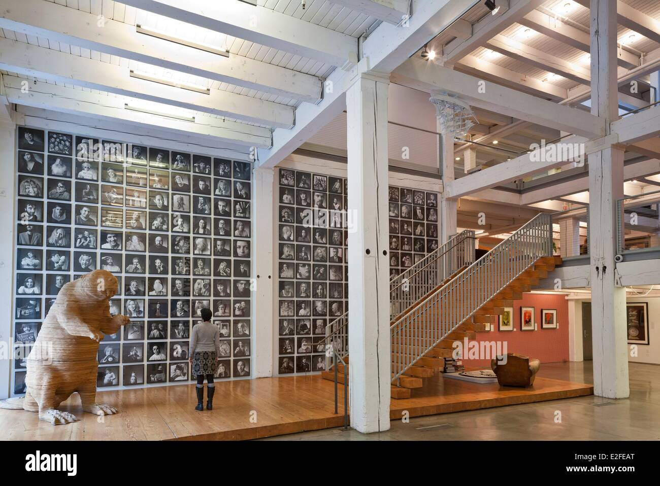 advertising agency office. United States Oregon Portland Pearl District Office Lobby Of Advertising Agency Wieden+Kennedy Produced By N