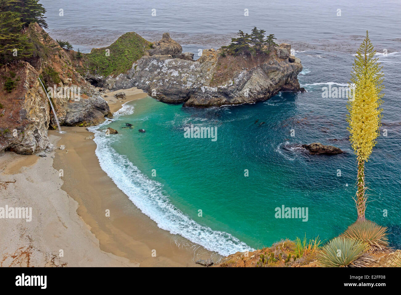 United states california california highway 1 designated an stock united states california california highway 1 designated an all american road big sur pacific coastline julia pfeiffer burns publicscrutiny Image collections