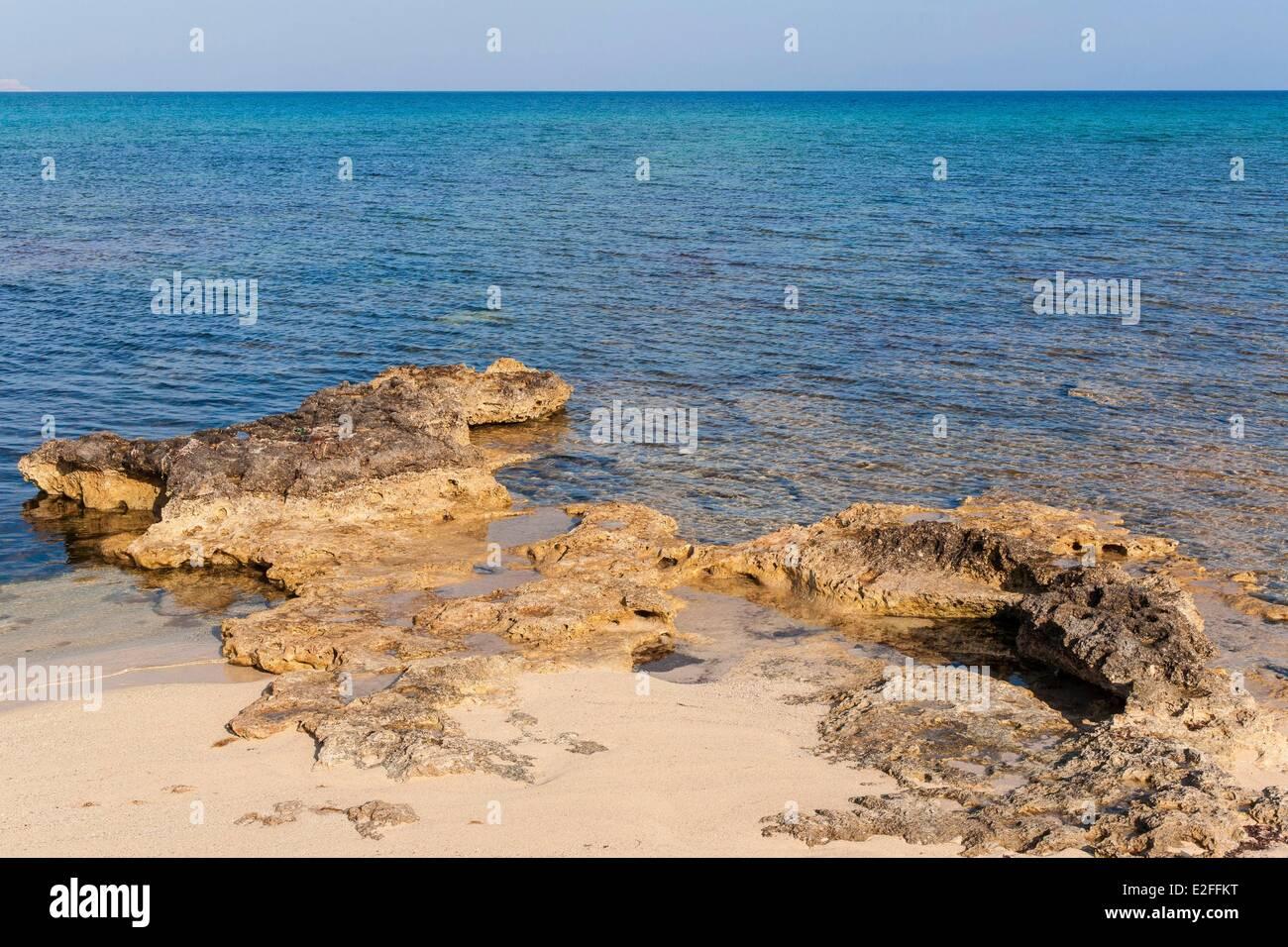 Cyprus, Potamos tou Liopetri, beach - Stock Image