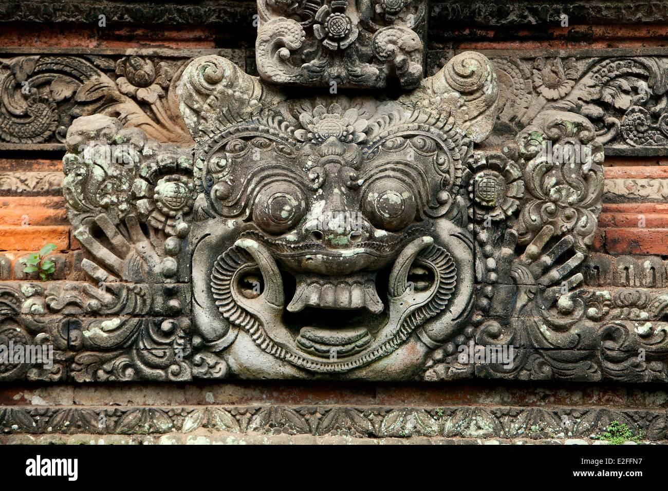 Indonesia, Bali, Ubud, Monkey Forest, Dalem Agung Padantegal Temple - Stock Image