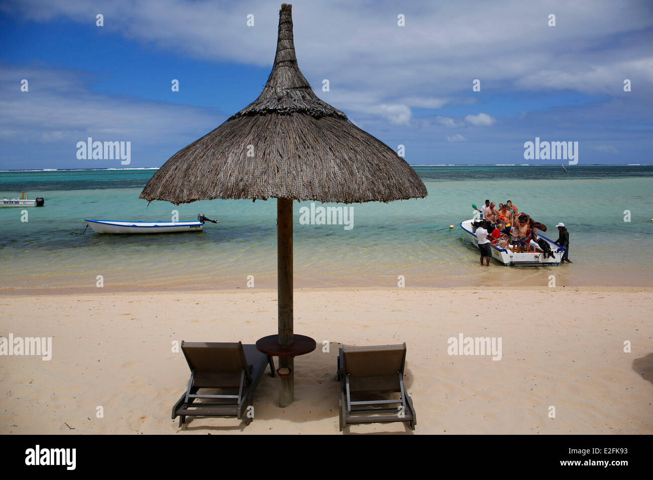 Mauritius, South, Bel Ombre domaine, Heritage resort, five stars Luxury Hotel Telfair - Stock Image