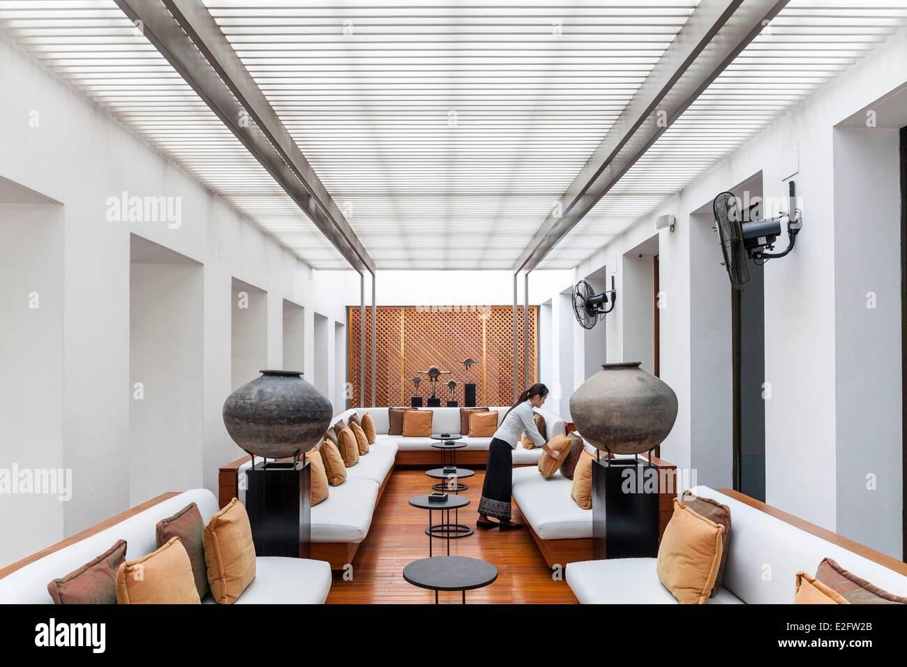 Thailand Bangkok Sukhothai luxury hotel designed by architect Kerry ...