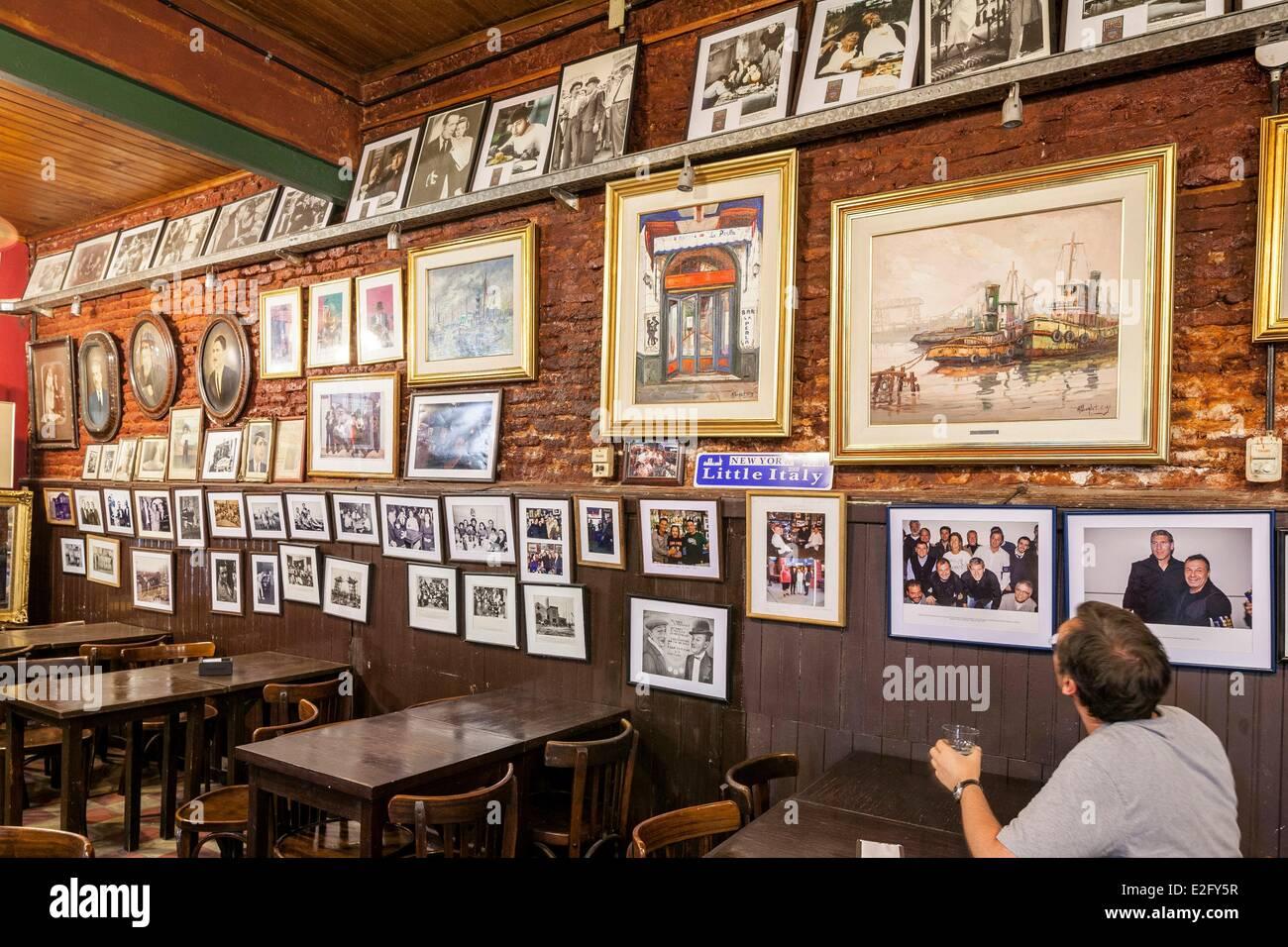 Argentina Buenos Aires La Boca District La Perla Cafe Opened In 1885