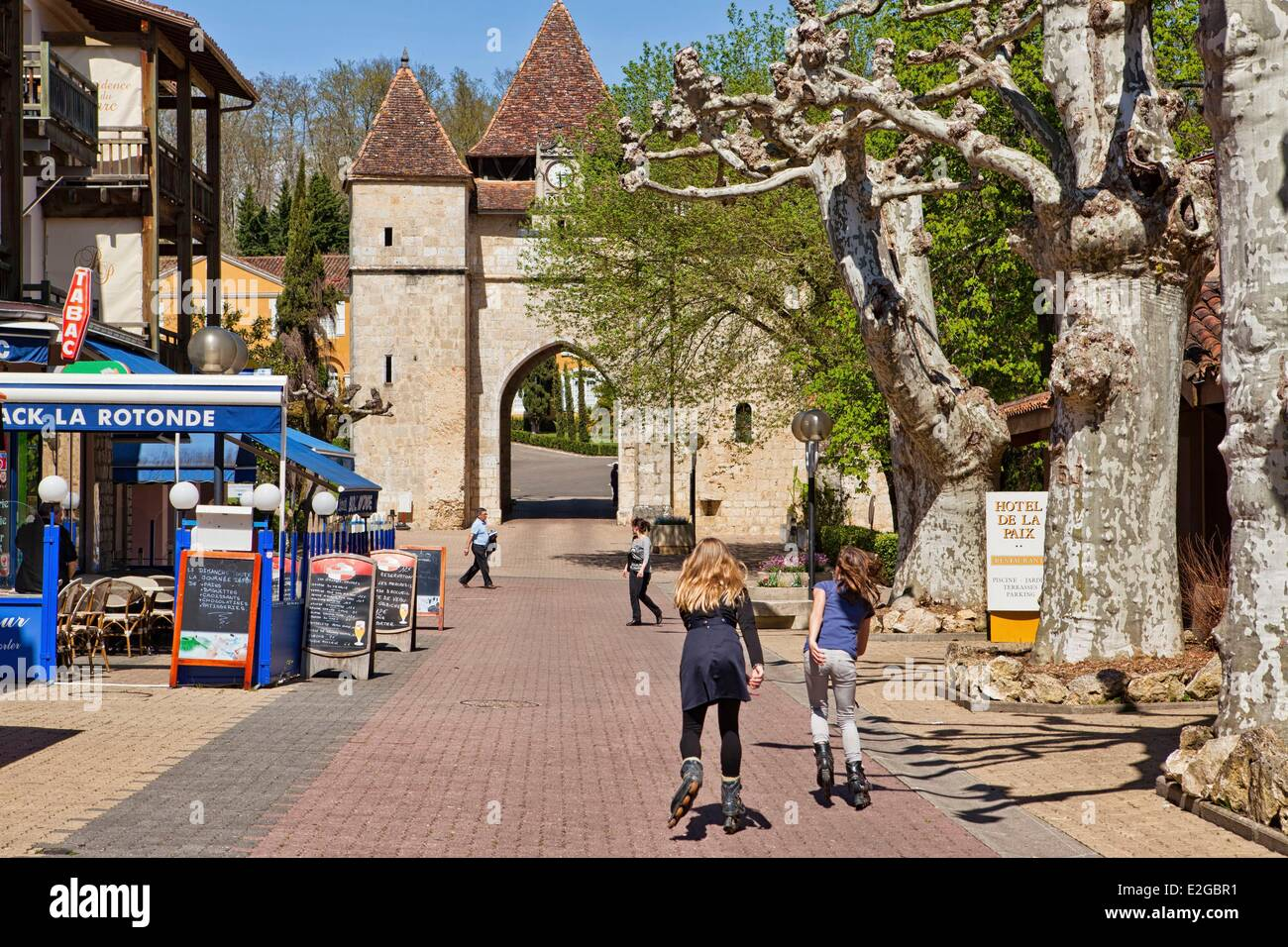 France Gers Barbotan Les Thermes Spa Stock Photo 70431285 Alamy