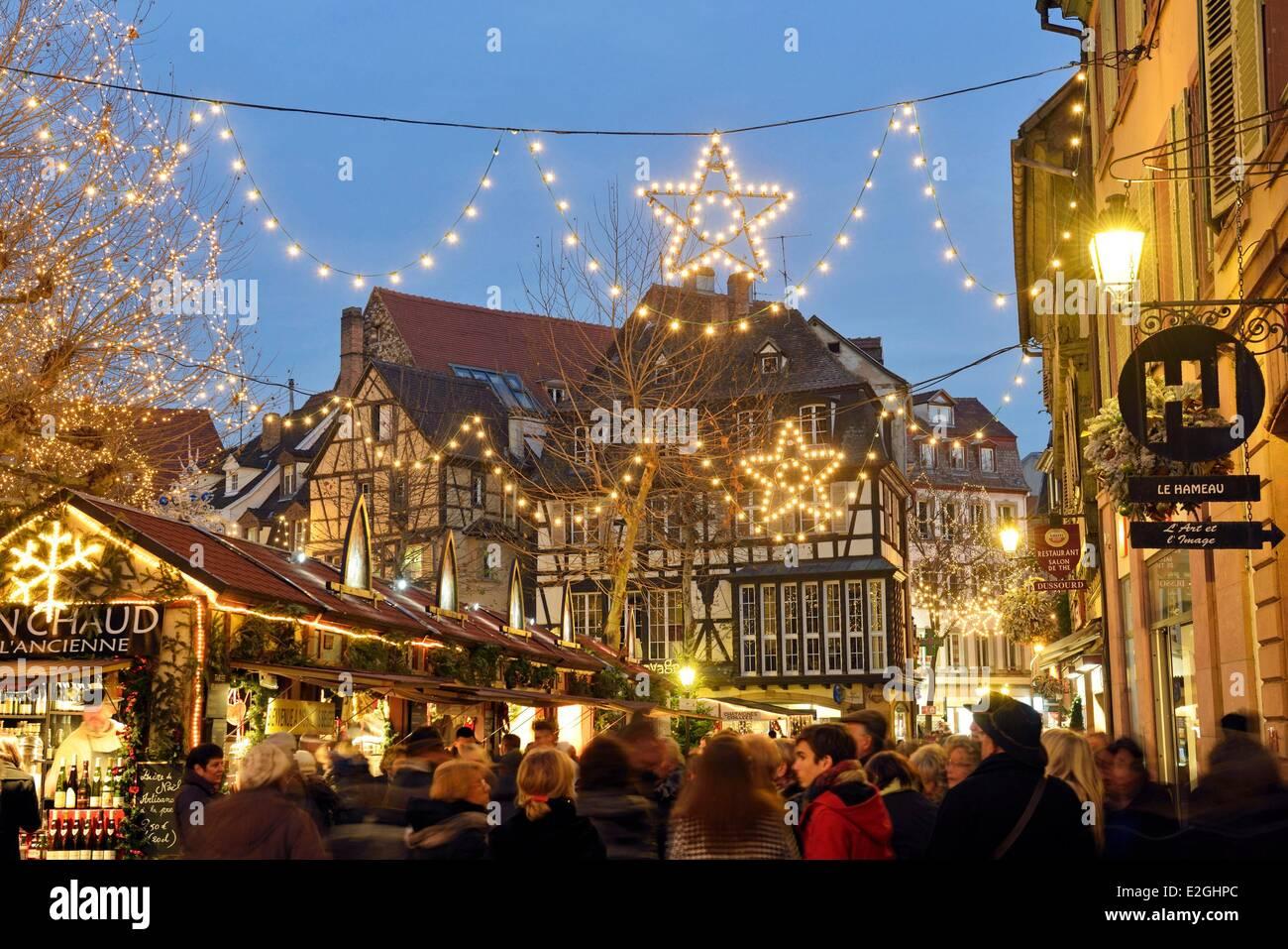 Colmar Christmas Market.Colmar Christmas Stock Photos Colmar Christmas Stock