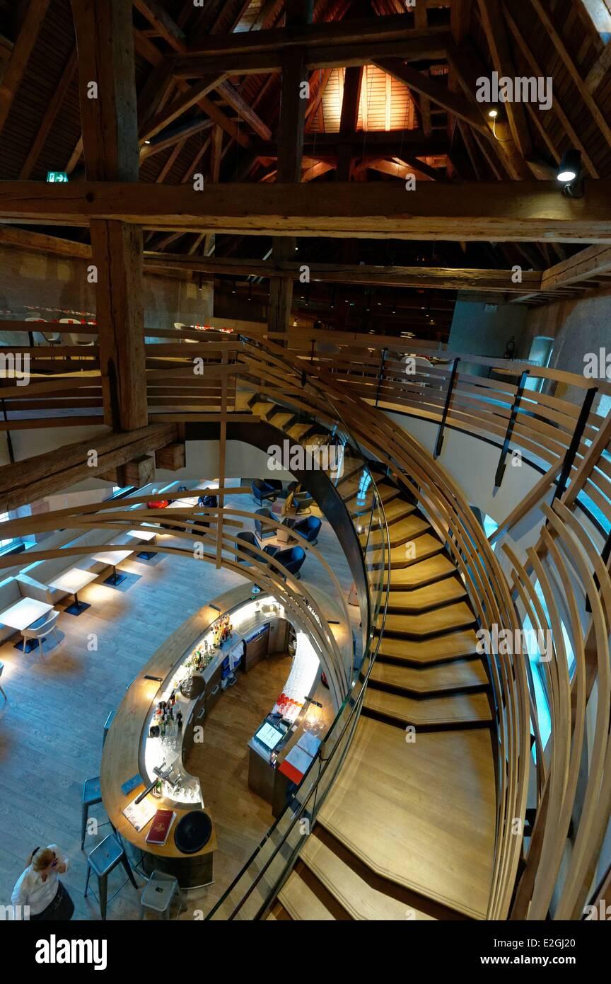 France Bas Rhin Strasbourg new restaurant Brasserie Les Haras Stock ...