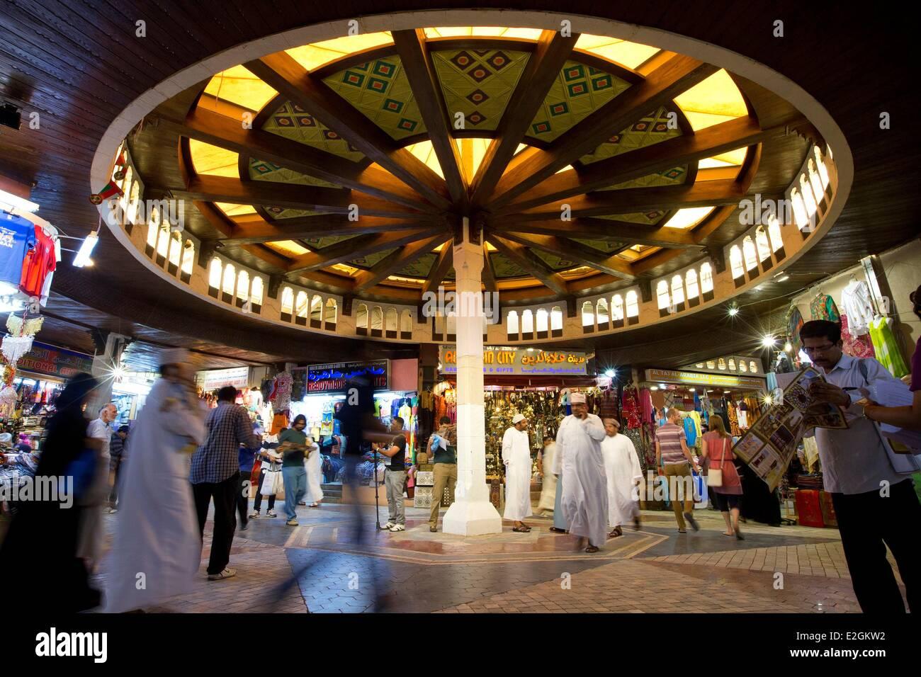 Sultanate of Oman Muscat Mutrah souk - Stock Image