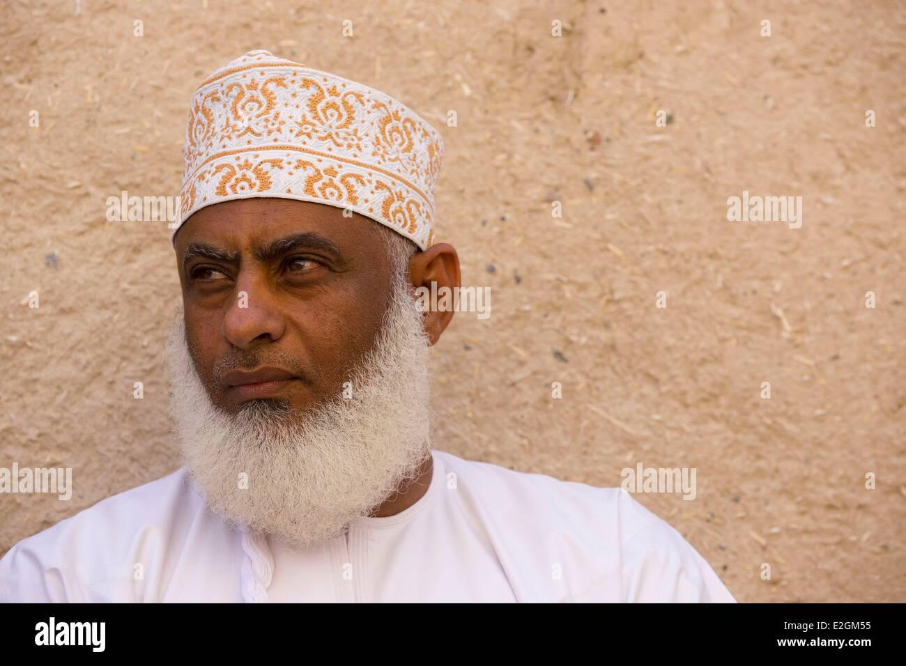 Sultanate of Oman Ad Dakhiliyah region Adam historic village restoration - Stock Image