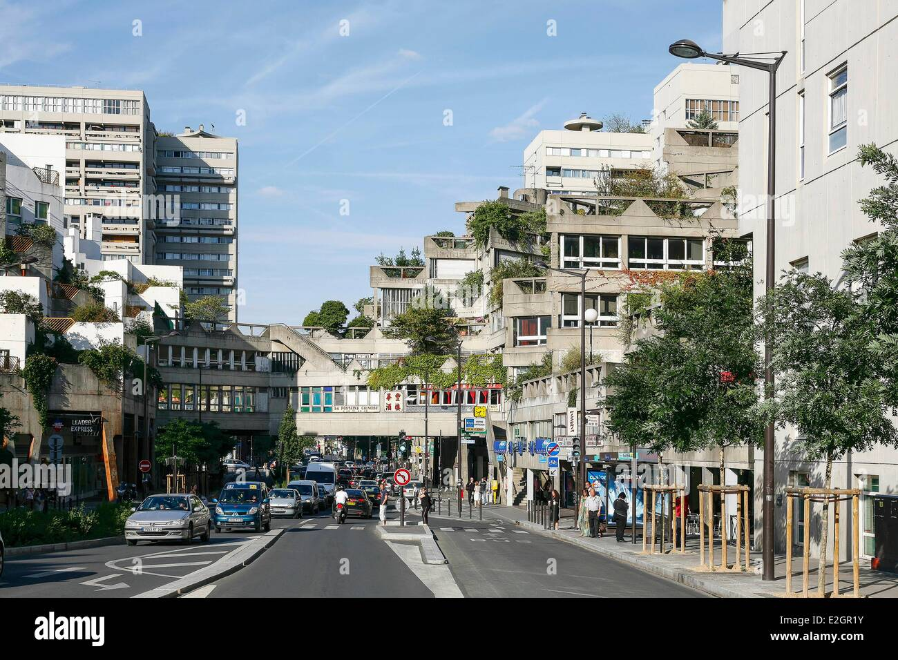 france val de marne ivry sur seine avenue georges gosnat stock photo 70440103 alamy. Black Bedroom Furniture Sets. Home Design Ideas