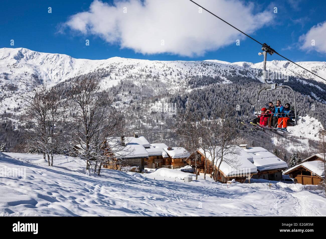 france savoie tarentaise valley meribel village meribel is one of