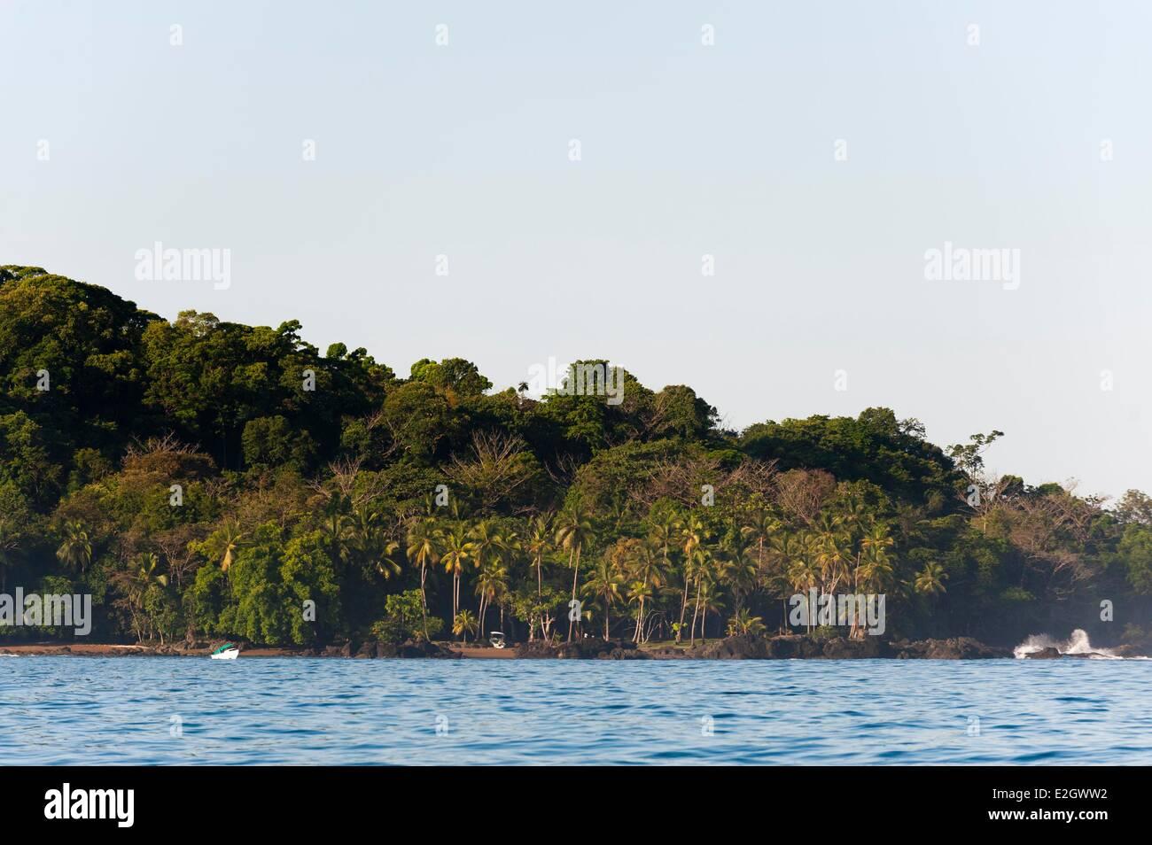 Costa Rica Osa peninsula Corcovado National Park - Stock Image