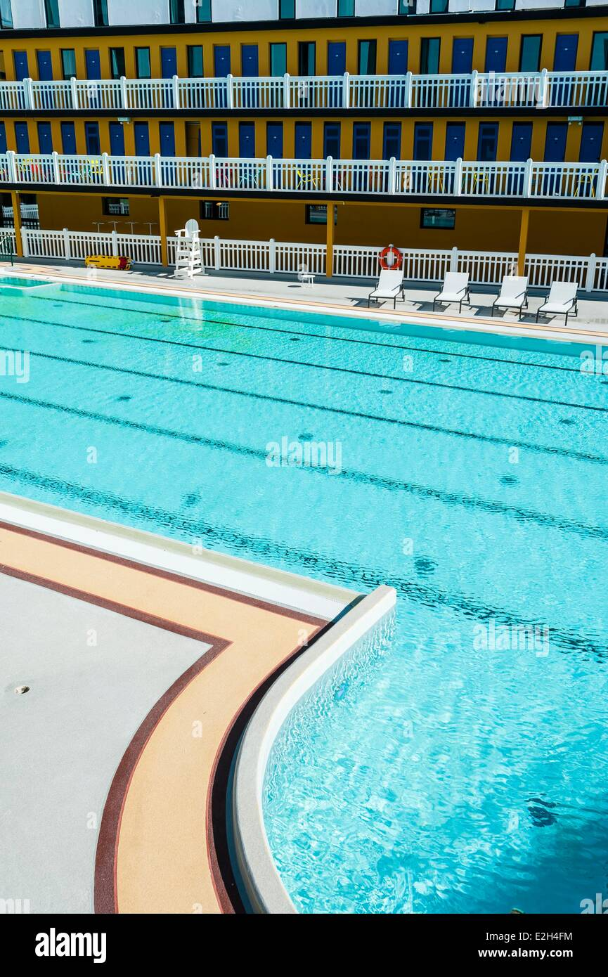 France Paris Hotel Molitor Swimming Pool Opening In May 2014 Listed As  Historical Monument Art Deco Outdoor Pool