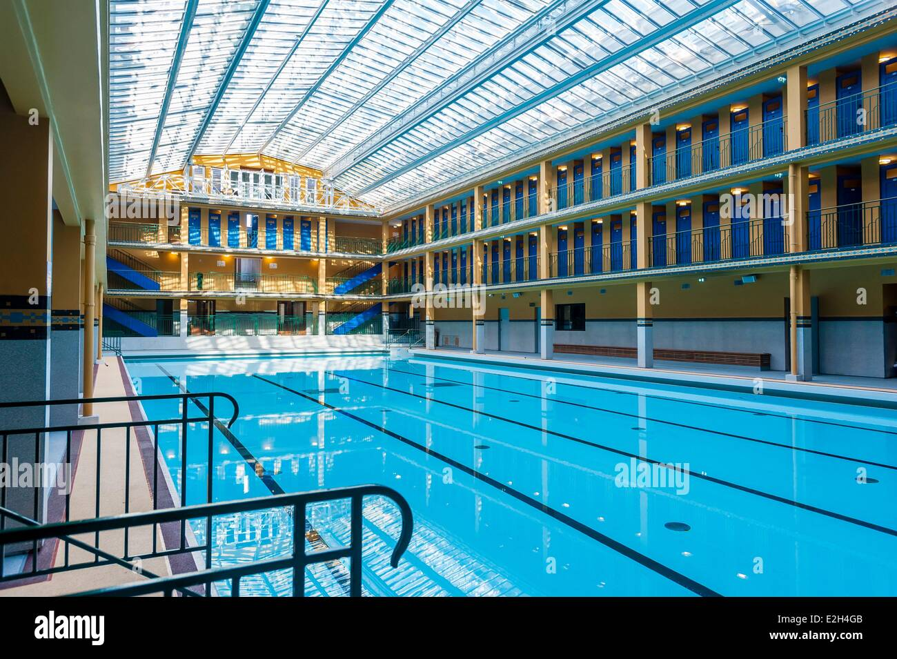 France Paris Hotel Molitor Swimming Pool Opening In May 2014 Listed Stock Photo 70447563 Alamy
