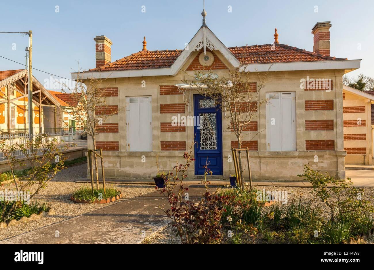 France Gironde Soulac sur Mer Villa Ker Anna - Stock Image