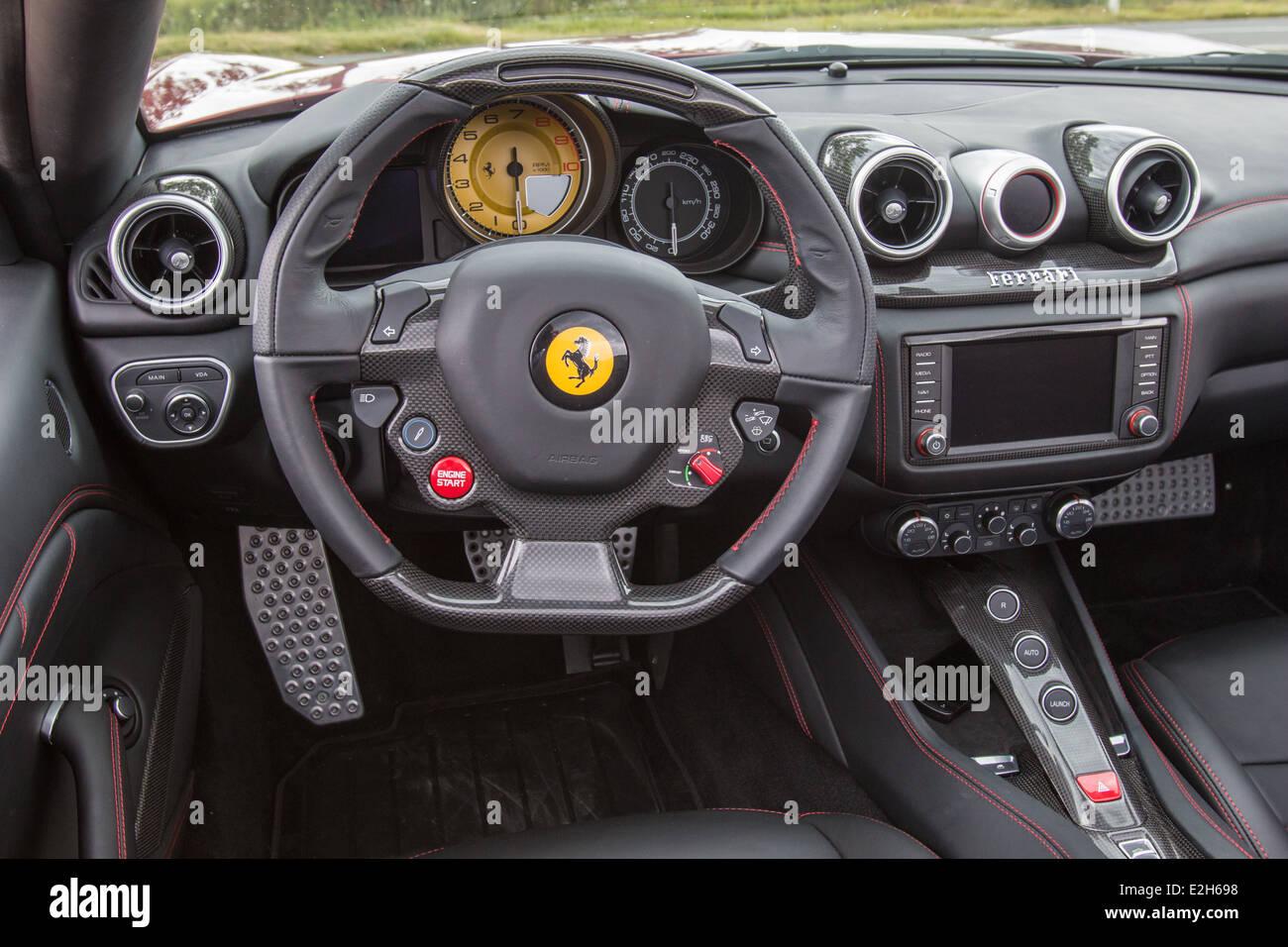 Ferrari California T In Northern Italy Stock Photo 70448932 Alamy