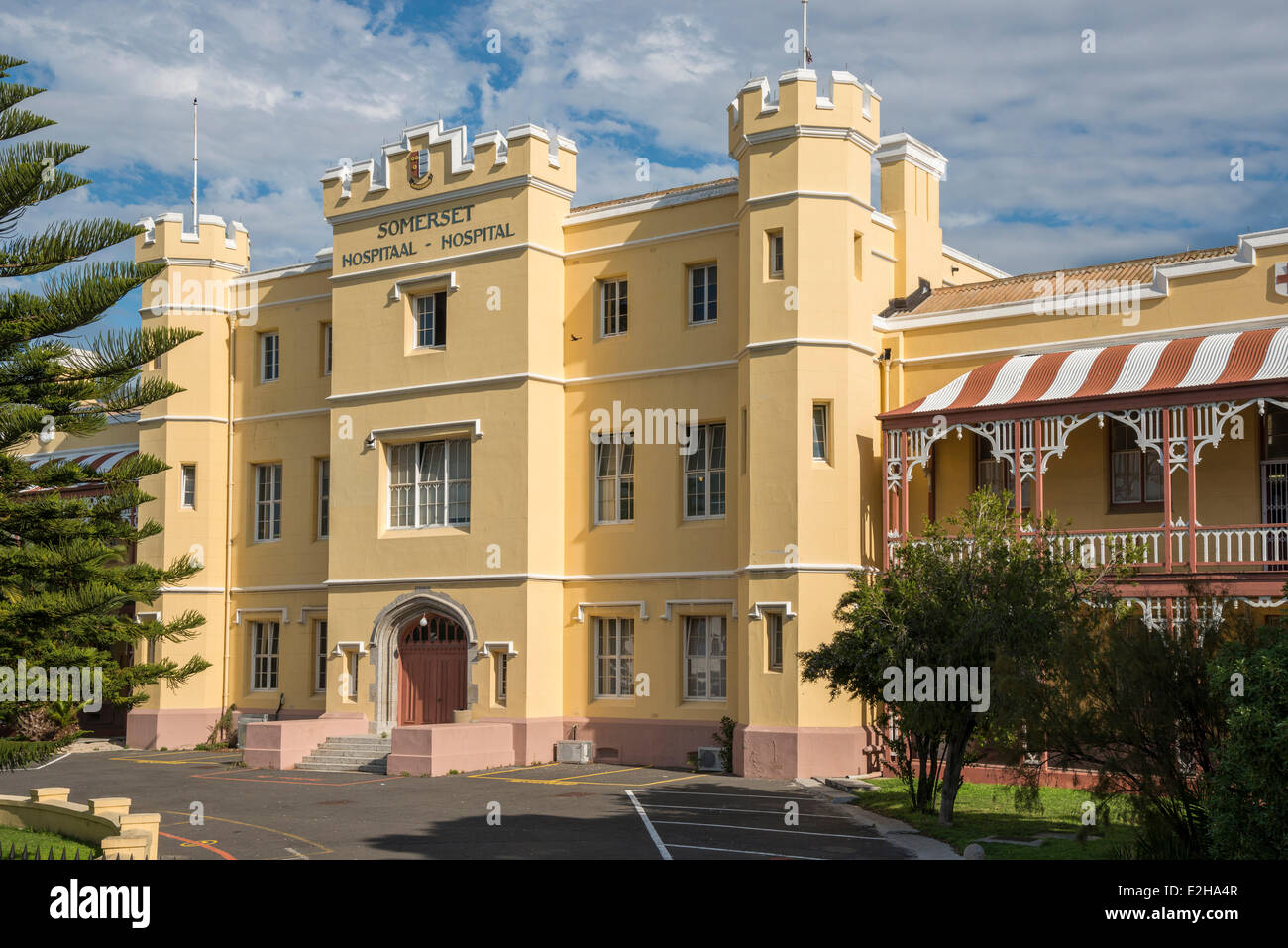 Somerset Hospital, Cape Town, Western Cape, South Africa - Stock Image