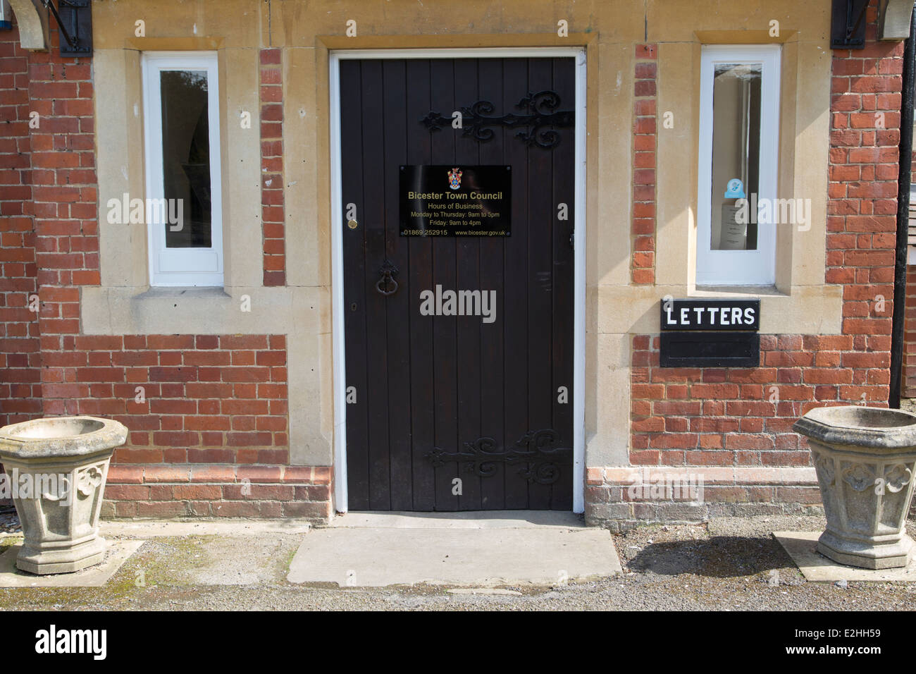 Bicester Town Council - Stock Image