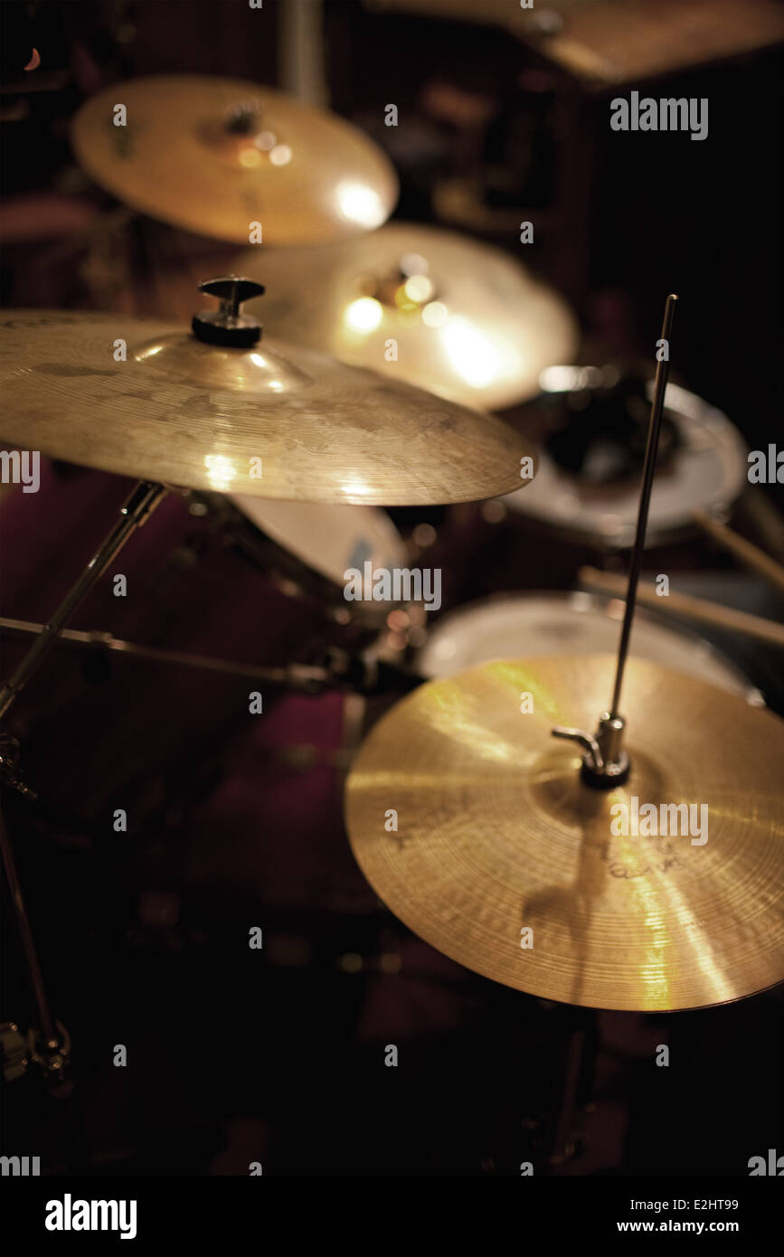 Drum Set From Above Stock Photos Drum Set From Above Stock Images