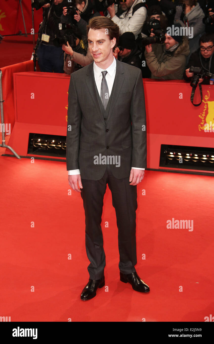 Jure Henigman at 63rd Berlin International Film Festival (Berlinale) - premiere Before Midnight at Berlinalepalast - Stock Image