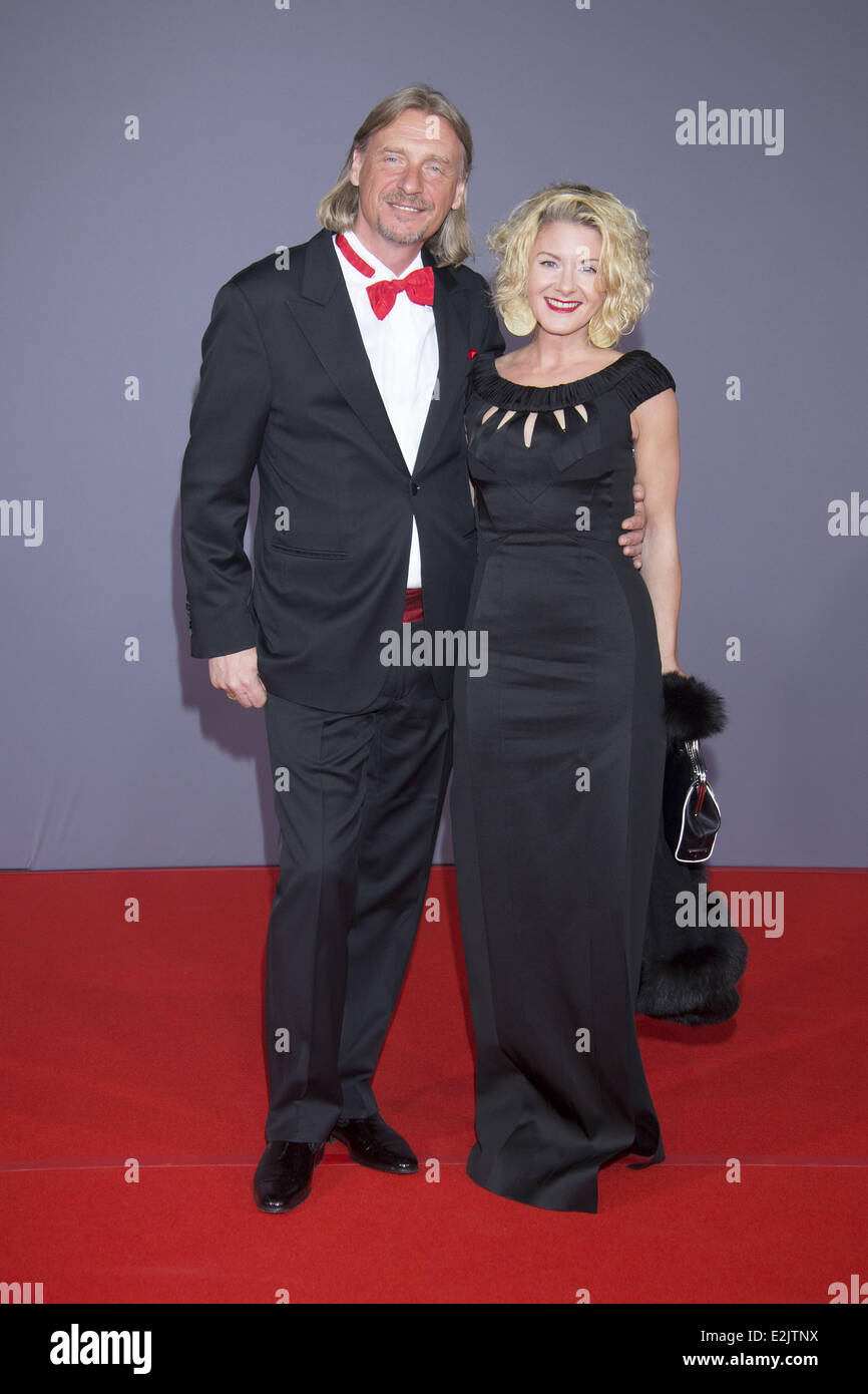 Frank Otto, Stefanie Otto at Michael Otto's 70th birthday party at ...