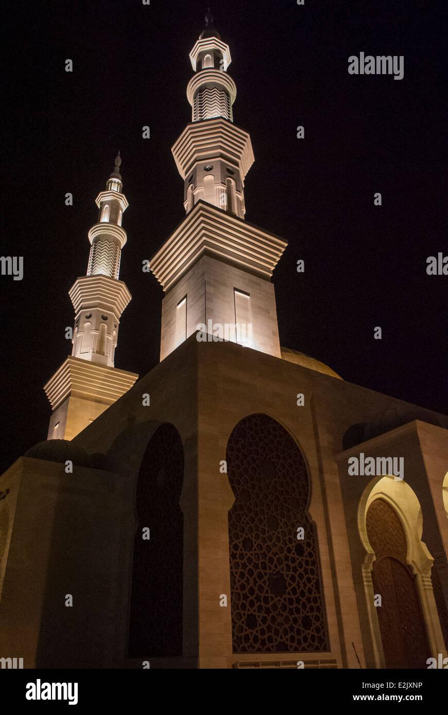 Al Khaldi Mosque Gaza City,Palestine. - Stock Image