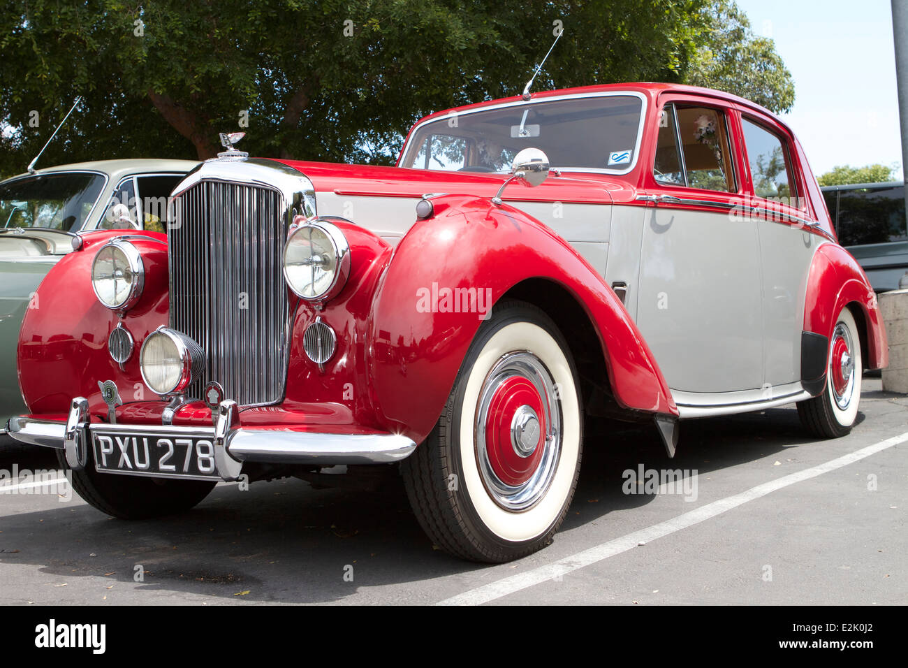 A British Bentley At A British Car Show In Santa Ana California - British car show