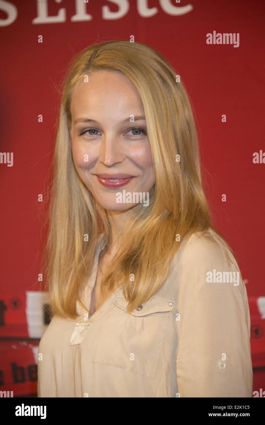 Petra Schmidt-Schaller at a photocall for German ARD TV serie Stock Photo -  Alamy