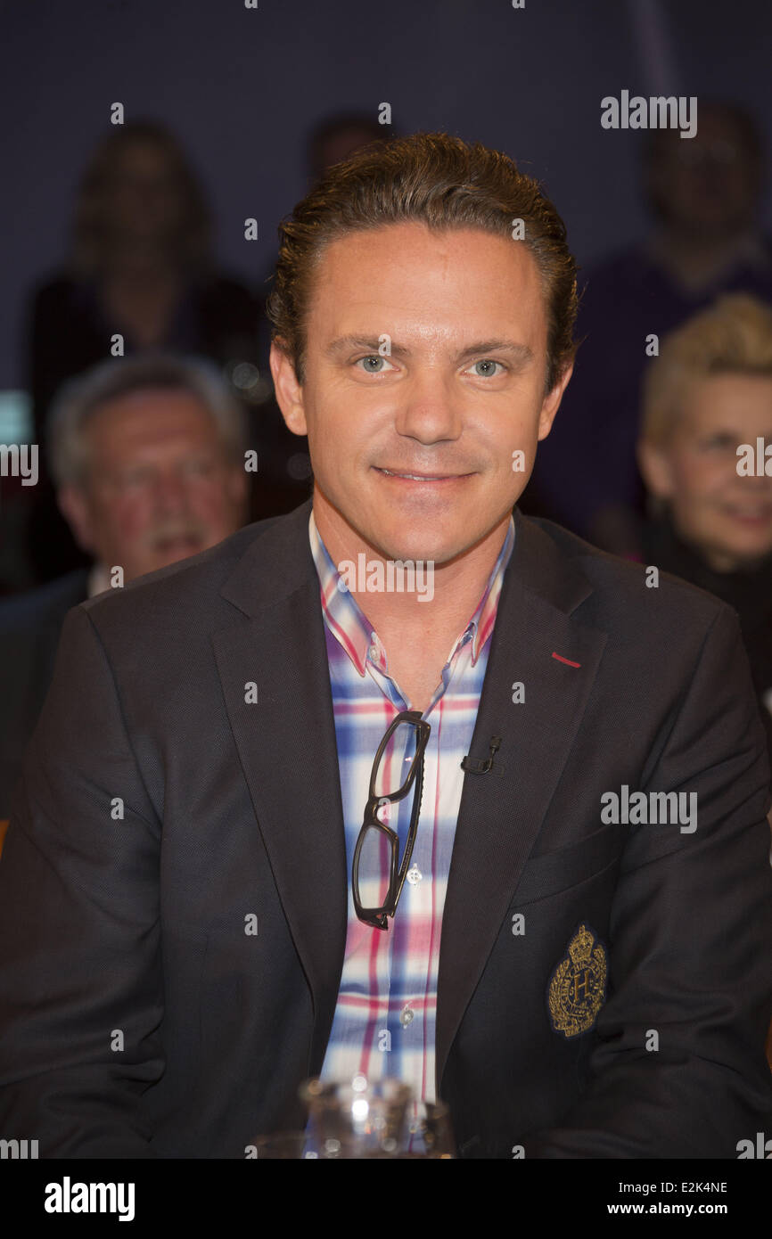 Stefan Mross on German tv show NDR Talkshow at Studio 5.  Where: Hamburg, Germany When: 26 Apr 2013 - Stock Image