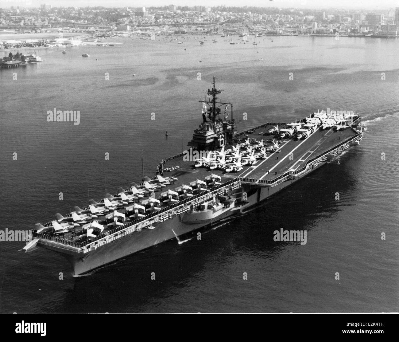 CV-61, USS Ranger, NAS NI Stock Photo: 70491697 - Alamy